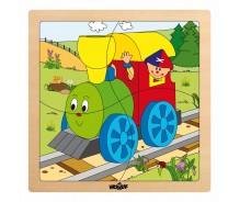 """Puzle """"Vilciens"""" No1"""