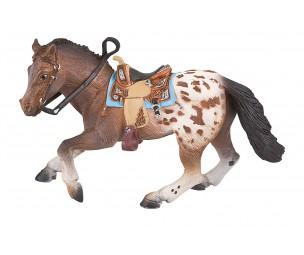 Apalosas staļļa zirgs