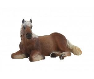 Haflingeras staļļa zirgs