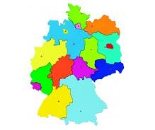 Puzle Vācijas karte