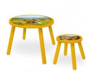 """Galds + krēsls """"Madagaskāra 2"""""""