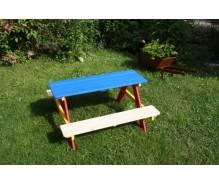 Piknika galds - krāsains