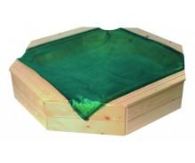 Smilšu kaste ar paklāju