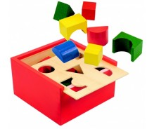Box with diffrent blocks