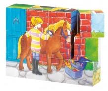 """Kubu puzle """"Zirgi"""""""