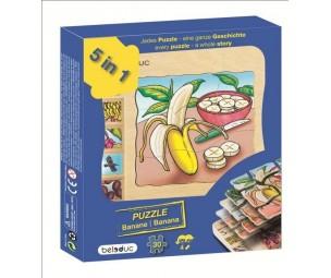 """Kārtu puzle """"Banāns"""""""