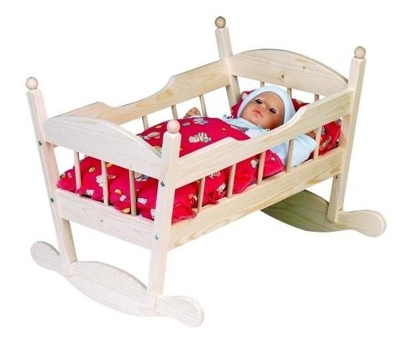 Как сделать большую кровать куклами