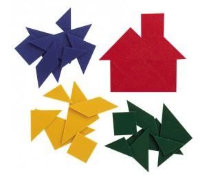 Tangrams no plastmasas