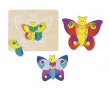 "4 layer puzzle ""Butterfly"""