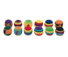 Tamborētas bumbiņas, krāsainas N1