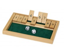 "Dice game ""Close the box"""