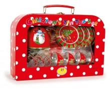Piknika grozs Ziemassvētki