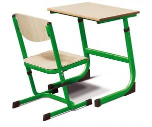 Regulējams krēsls 3-4 zaļš