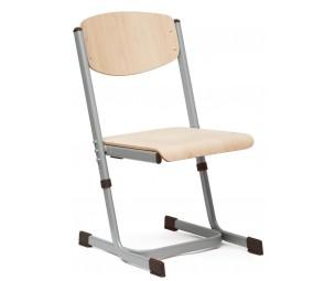 Regulējams krēsls 5-6 pelēks