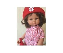 Lelle Nany sarkanā kleitā