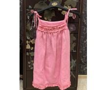 Meitenu kleita - linu, roza