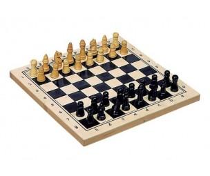 Šahs ar pamatni 21x21cm