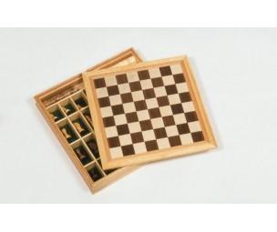Galda spēļu komplekts-šahs.dambrete.d
