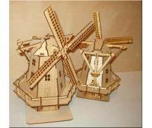 3D modelis Vējdzirnavas