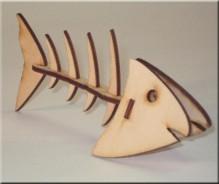 3D modelis Zivs asaka