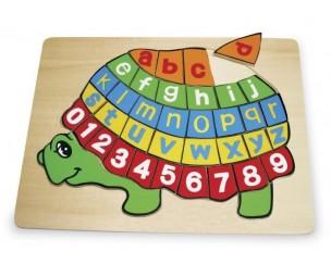 "ABC puzle""Bruņurupucis"""