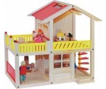 Leļļu māja ar terasi